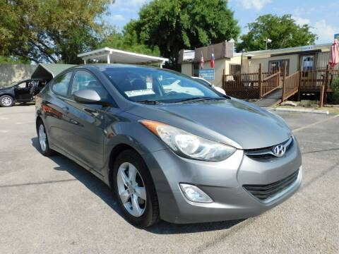 2012 Hyundai Elantra for sale at Midtown Motor Company in San Antonio TX