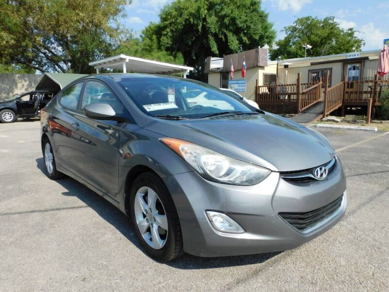 2012 Hyundai Elantra for sale at Midtown Motor Company in San Antonio TX