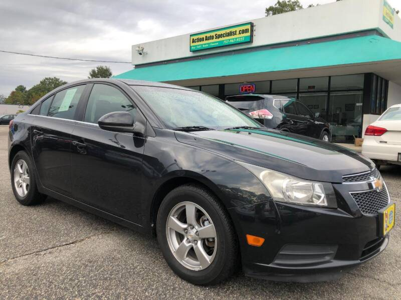 2012 Chevrolet Cruze for sale at Action Auto Specialist in Norfolk VA