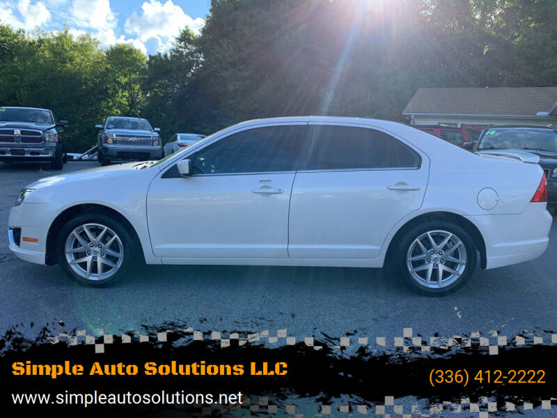 2012 Ford Fusion for sale at Simple Auto Solutions LLC in Greensboro NC