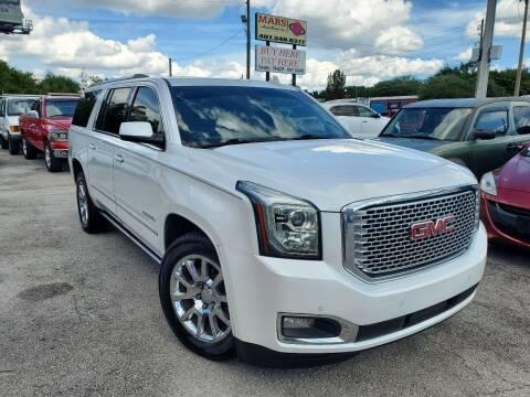 2016 GMC Yukon XL for sale at Mars auto trade llc in Kissimmee FL
