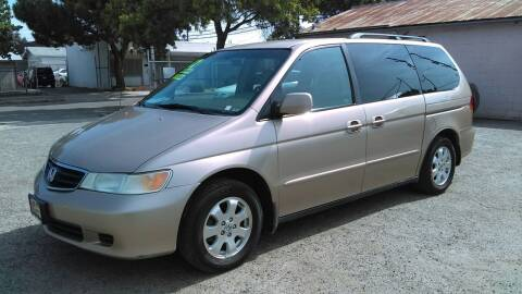 2002 Honda Odyssey for sale at Larry's Auto Sales Inc. in Fresno CA