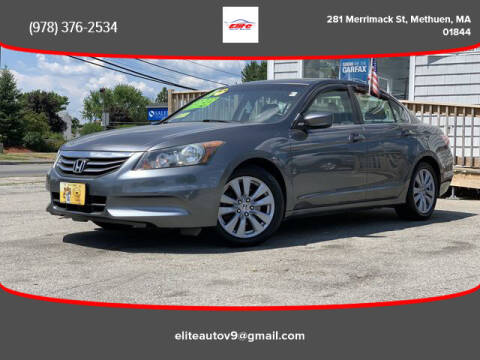 2011 Honda Accord for sale at ELITE AUTO SALES, INC in Methuen MA