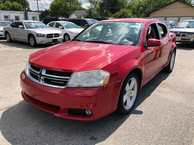 2013 Dodge Avenger for sale at AUTO NETWORK LLC in Petersburg VA