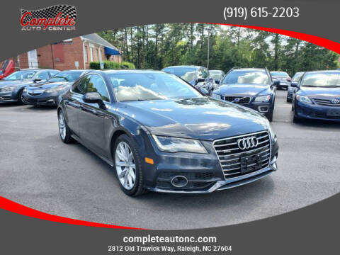 2013 Audi A7 for sale at Complete Auto Center , Inc in Raleigh NC