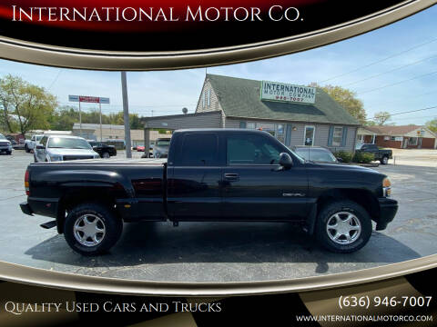 2004 GMC Sierra 1500 for sale at International Motor Co. in St. Charles MO