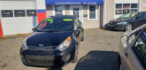 2012 Kia Rio 5-Door for sale at TC Auto Repair and Sales Inc in Abington MA