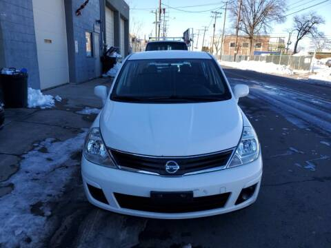 2012 Nissan Versa for sale at SUNSHINE AUTO SALES LLC in Paterson NJ