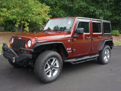 2007 Jeep Wrangler Unlimited for sale at CLASSIC AUTO SALES in Holliston MA