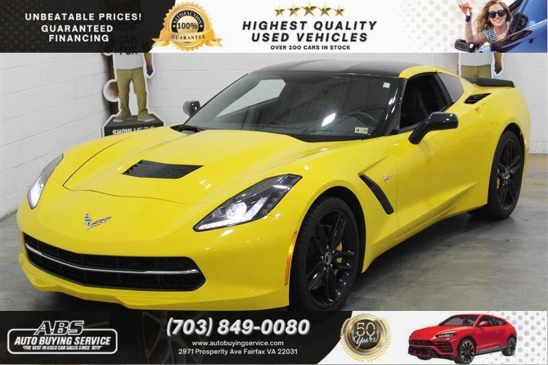 2014 Chevrolet Corvette for sale in Fairfax, VA