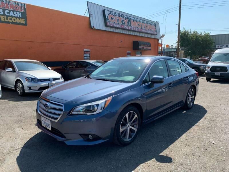 2017 Subaru Legacy for sale at City Motors in Hayward CA