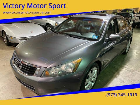 2008 Honda Accord for sale at Victory Motor Sport in Paterson NJ
