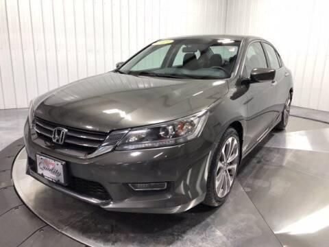 2013 Honda Accord for sale at HILAND TOYOTA in Moline IL