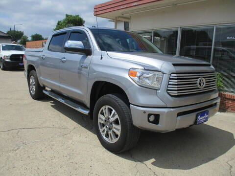 2017 Toyota Tundra for sale at Choice Auto in Carroll IA