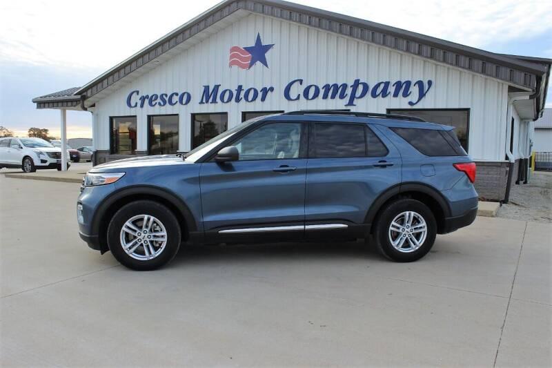 2020 Ford Explorer for sale at Cresco Motor Company in Cresco IA