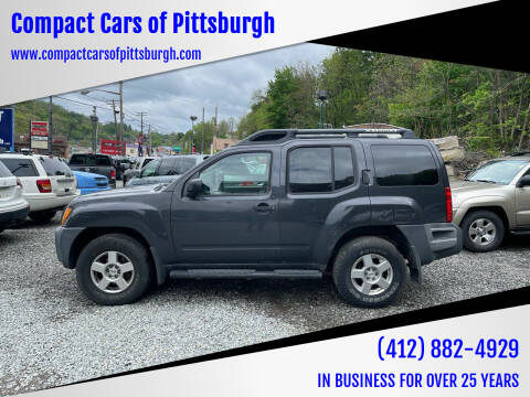 2008 Nissan Xterra for sale at Compact Cars of Pittsburgh in Pittsburgh PA