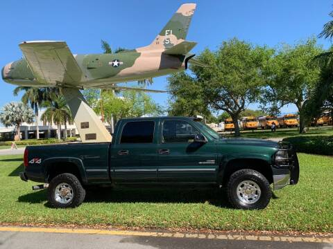 2002 Chevrolet Silverado 2500HD for sale at BIG BOY DIESELS in Ft Lauderdale FL