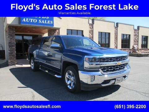2017 Chevrolet Silverado 1500 for sale at Floyd's Auto Sales Forest Lake in Forest Lake MN