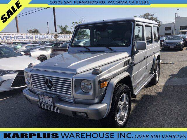 2002 Mercedes-Benz G-Class for sale in Pacoima, CA