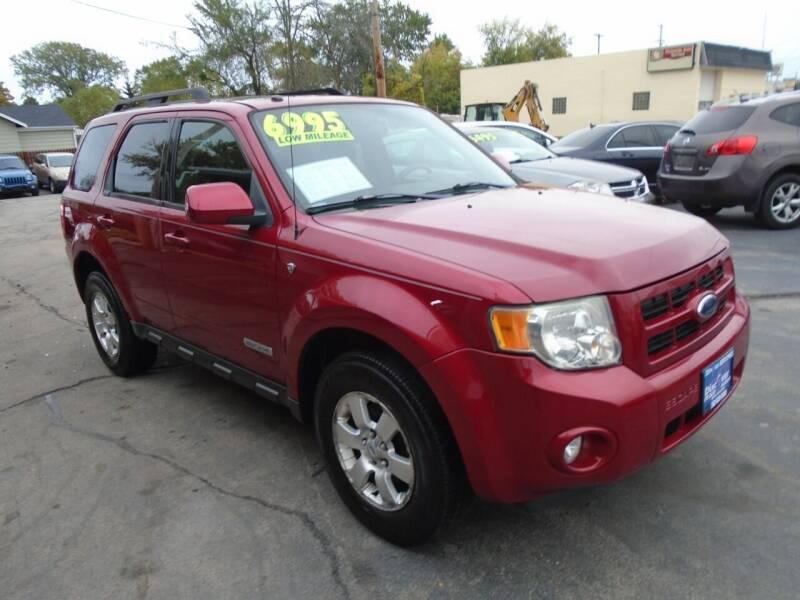 2008 Ford Escape for sale at DISCOVER AUTO SALES in Racine WI