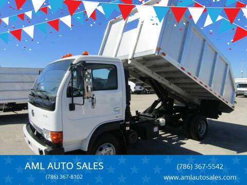 2004 Nissan UD Trucks UD1400 for sale at AML AUTO SALES - Dump Trucks in Opa-Locka FL