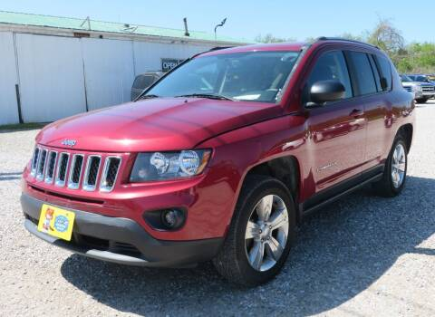 2017 Jeep Compass for sale at Low Cost Cars in Circleville OH