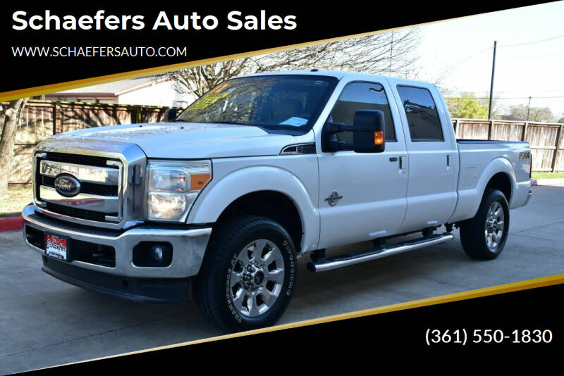 2012 Ford F-250 Super Duty for sale at Schaefers Auto Sales in Victoria TX