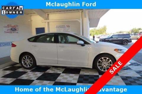 2017 Ford Fusion for sale at McLaughlin Ford in Sumter SC