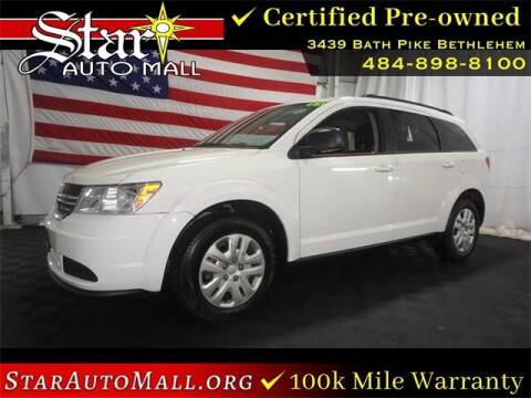 2016 Dodge Journey for sale at STAR AUTO MALL 512 in Bethlehem PA