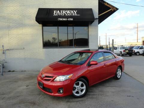 2012 Toyota Corolla for sale at FAIRWAY AUTO SALES, INC. in Melrose Park IL