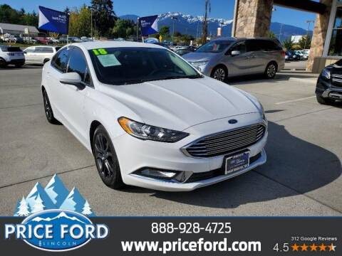 2018 Ford Fusion for sale at Price Ford Lincoln in Port Angeles WA