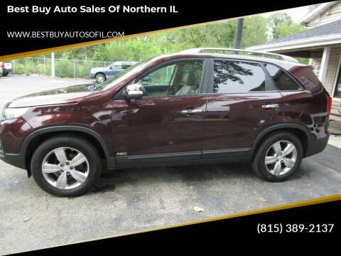 2013 Kia Sorento for sale at Best Buy Auto Sales of Northern IL in South Beloit IL
