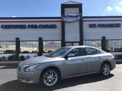 2009 Nissan Maxima for sale at Ultimate Auto Deals in Fort Wayne IN