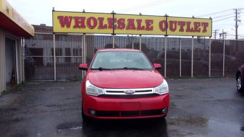 2008 Ford Focus for sale at LONG BROTHERS CAR COMPANY in Cleveland OH