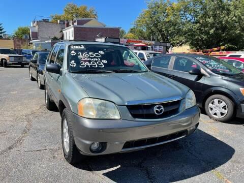 2003 Mazda Tribute for sale at Chambers Auto Sales LLC in Trenton NJ
