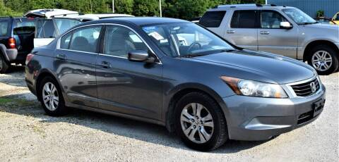 2010 Honda Accord for sale at PINNACLE ROAD AUTOMOTIVE LLC in Moraine OH