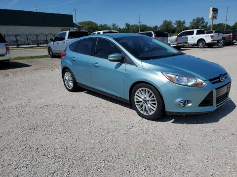 2012 Ford Focus for sale at Frieling Auto Sales in Manhattan KS