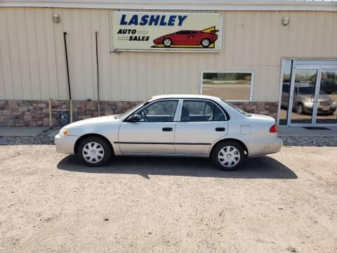 2001 Toyota Corolla for sale at Lashley Auto Sales in Mitchell NE