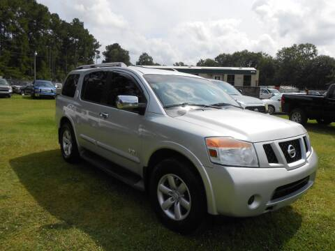 2008 Nissan Armada for sale at Jeff's Auto Wholesale in Summerville SC