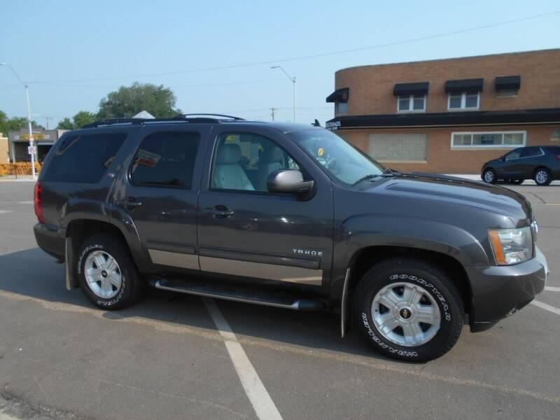 2010 Chevrolet Tahoe for sale at Creighton Auto & Body Shop in Creighton NE