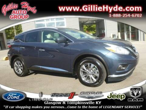 2017 Nissan Murano for sale at Gillie Hyde Auto Group in Glasgow KY