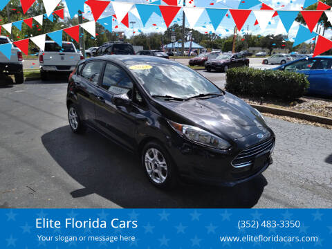 2015 Ford Fiesta for sale at Elite Florida Cars in Tavares FL