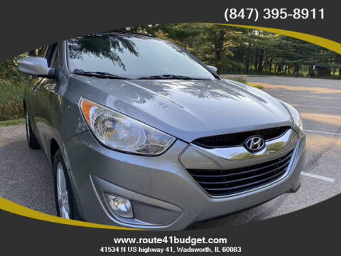 2010 Hyundai Tucson for sale at Route 41 Budget Auto in Wadsworth IL