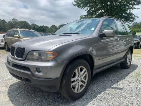 2005 BMW X5 for sale at ATLANTA AUTO WAY in Duluth GA