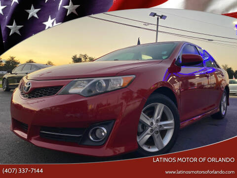 2013 Toyota Camry for sale at LATINOS MOTOR OF ORLANDO in Orlando FL