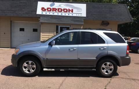 2005 Kia Sorento for sale at Gordon Auto Sales LLC in Sioux City IA