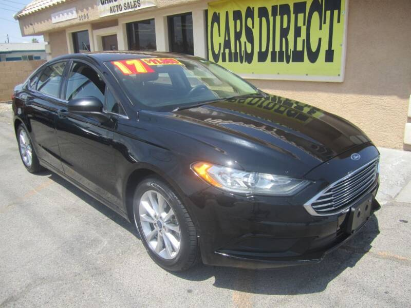 2017 Ford Fusion for sale at Cars Direct USA in Las Vegas NV