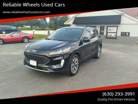 2020 Ford Escape for sale at Reliable Wheels Used Cars in West Chicago IL