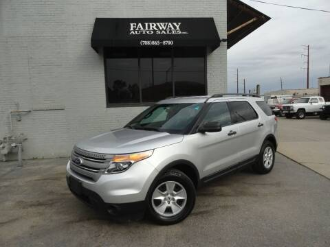 2011 Ford Explorer for sale at FAIRWAY AUTO SALES, INC. in Melrose Park IL