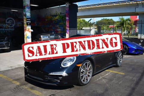 2015 Porsche 911 for sale at ELITE MOTOR CARS OF MIAMI in Miami FL
